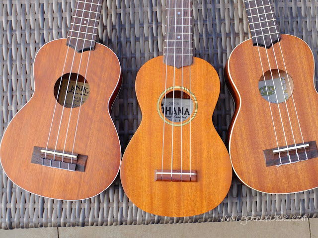 soprano ukuleles