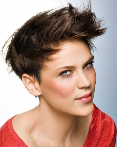 Modern Short Layered Haircut 2014