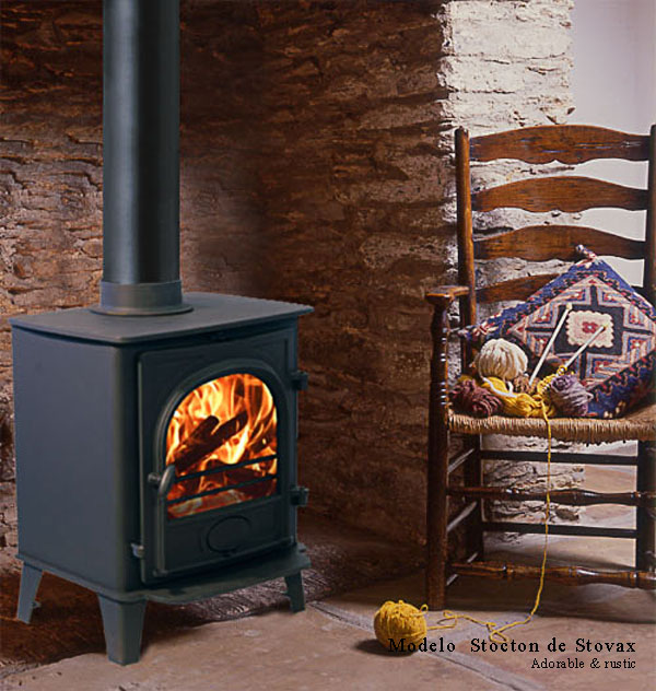 15 modelos de estufas a lena para estancias reducidas decoraci n - Como instalar una chimenea de lena ...