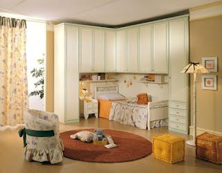Dormitorio estilo clásico niñas