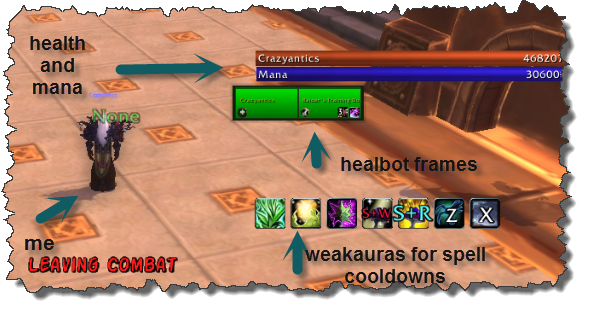 An image of a world of warcraft interface