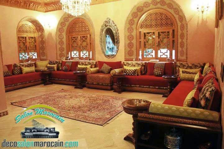 Salon marocain palais 2015
