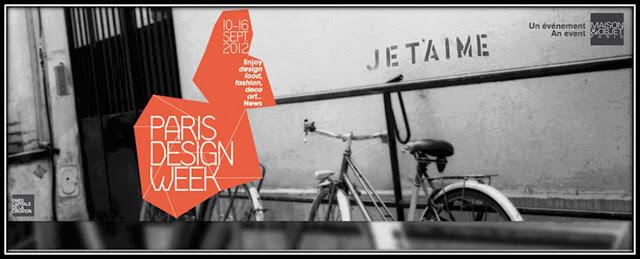 Paris Design Week 2012 affiche