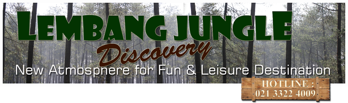 WELCOME : JUNGLE PARK OUTBOUND LEMBANG BANDUNG Wisata Camping Outbound  Outing & Gathering
