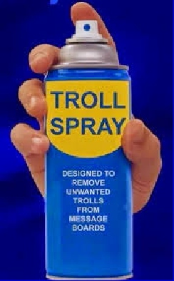 Anti-Troll Spray (Know Who is Who)