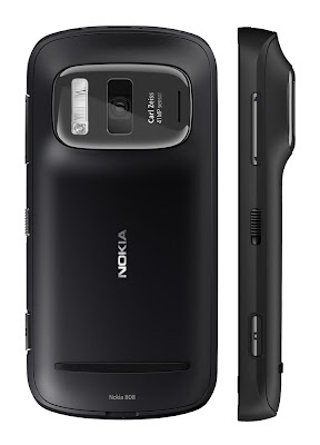 nokia Pureview 808 black