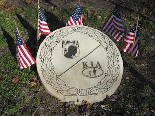 POW MIA memorial Dublin Veterans Park