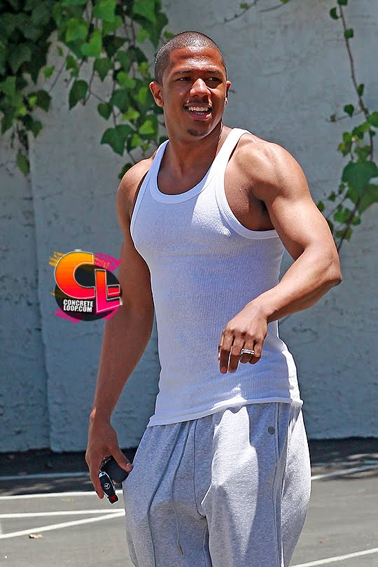 Nick Cannon Muscle