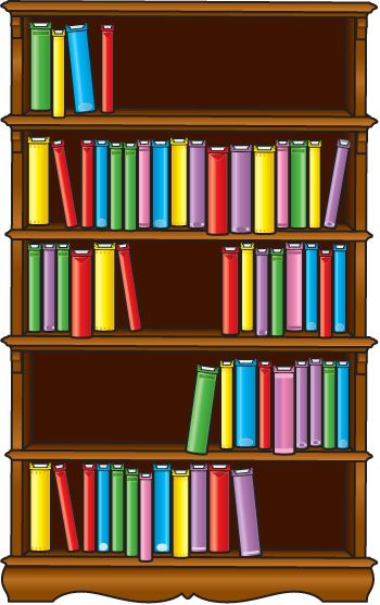 library shelves clipart - photo #8
