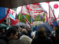 Manifestación 1 de mayo de 2012 en Vigo