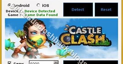 castle clash hack no human verification 2018