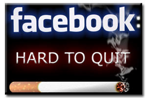 Difficile de partir de Facebook