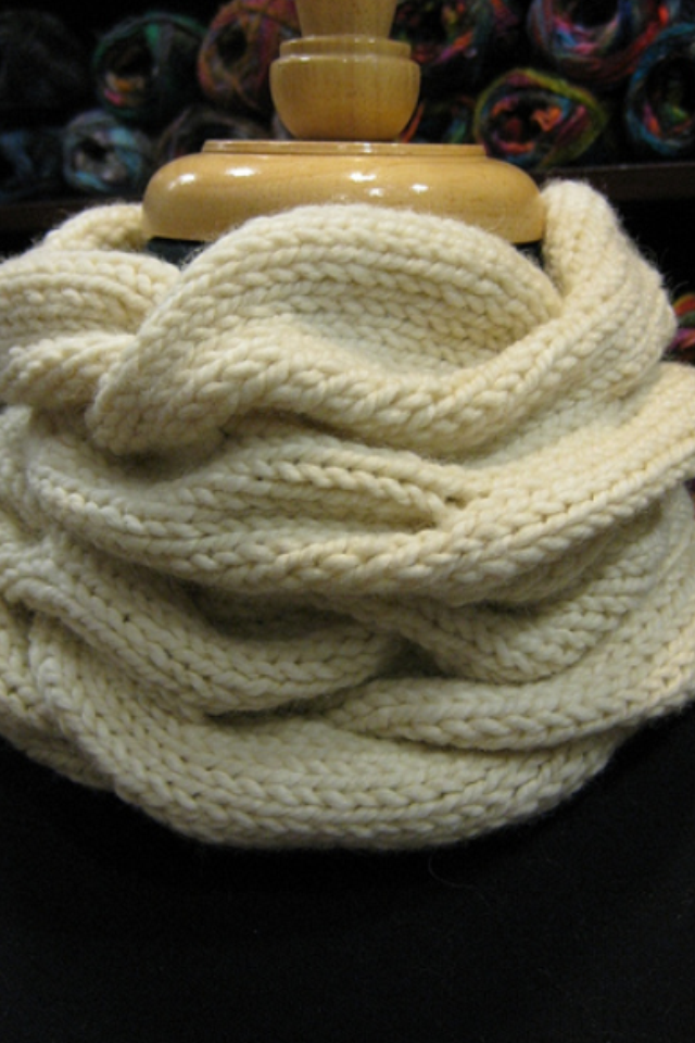 Honey Cowl By Madelinetosh Free And Simple Knitting Patterns