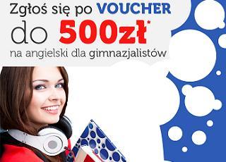 Wygraj voucher do 500 zł na angielski