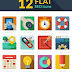 Iconos Seo - flat design