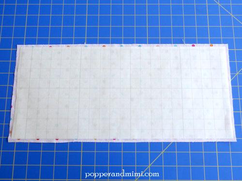 Reusable Fabric Sandwich Bag vinyl lining | popperandmimi.com