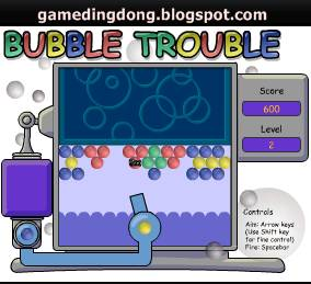 Download game Bubble Trouble