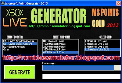 MS Point Generator 2013