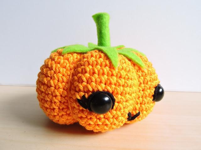 calabaza halloween amigurumi