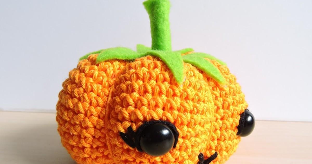 Excelente Patrón De Crochet Libre De Calabaza Ilustración - Ideas de ...