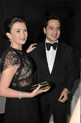 Angelica and John Lloyd