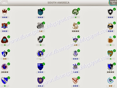 Logo Quiz Football Clubs South America Level 8 Answers