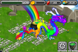 Adult Rainbow Dragon