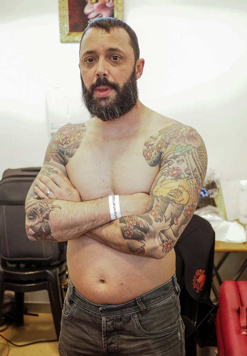 Tattoo Convention 2015 Zaragoza  PEOPLE