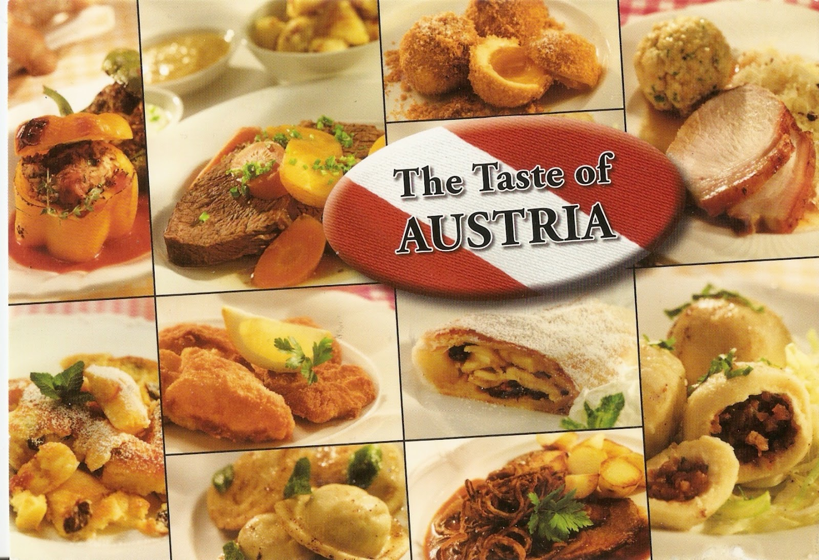 Swisscowgirl 39 s postcards postcard from austria for Austrian cuisine