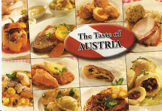 Swisscowgirl 39 s postcards postcard from austria for Austrian cuisine history