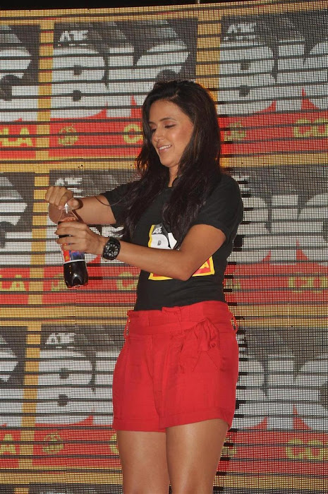 neha dhupia at the new logo launch of cola brand big cola. actress pics