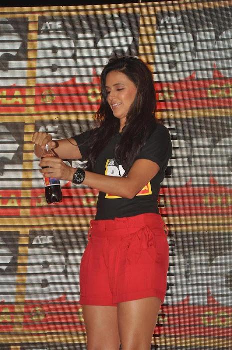 neha dhupia at the new logo launch of cola brand big cola. actress pics