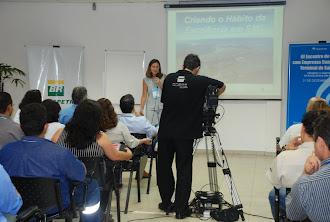 Palestra no Sistema Aquaviário da Transpetro em Santos