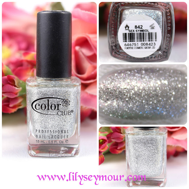 Color Club Sex Symbol Glitter Nail Polish