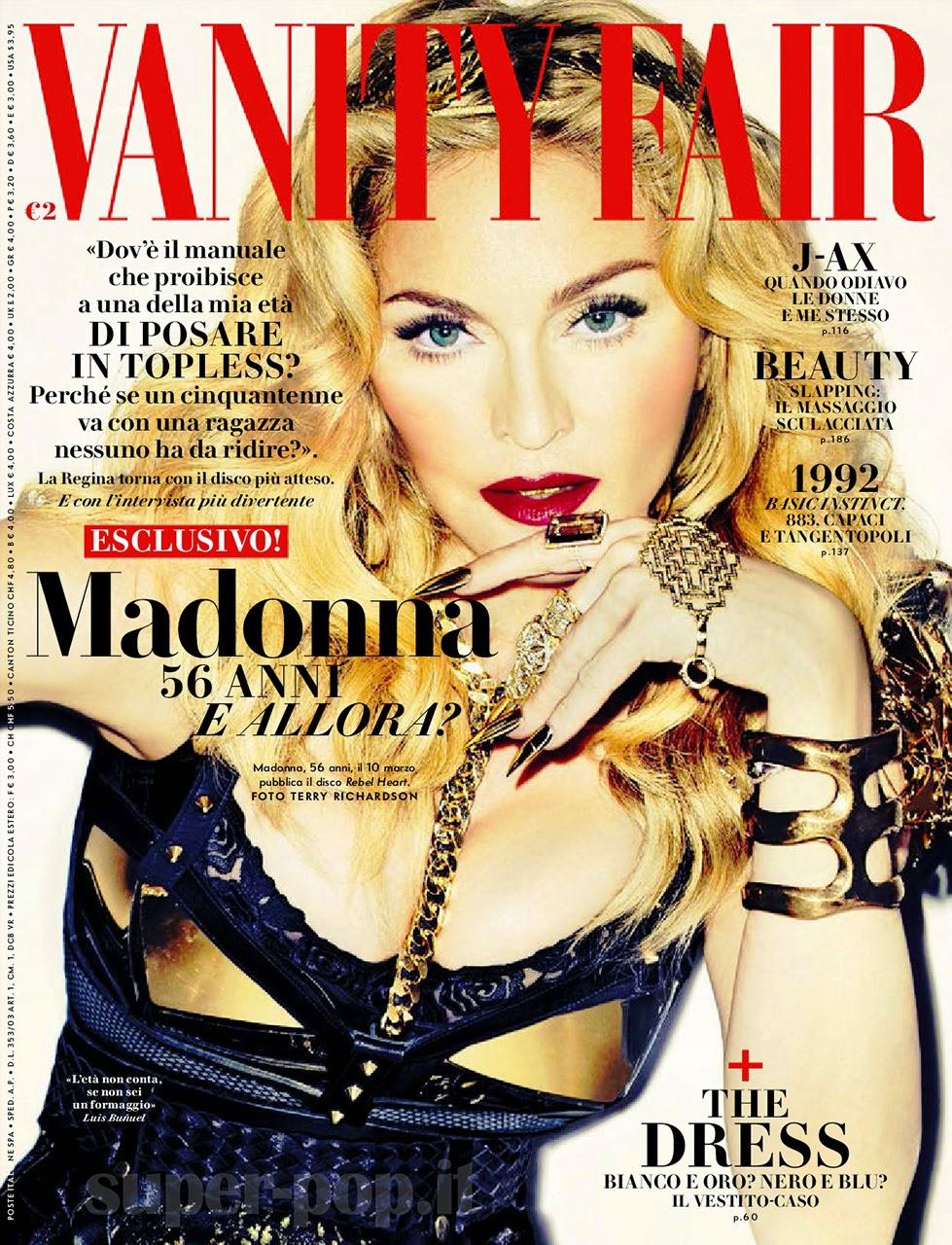 madonna+vanity+fair