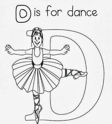 Dance Coloring Pages Printable