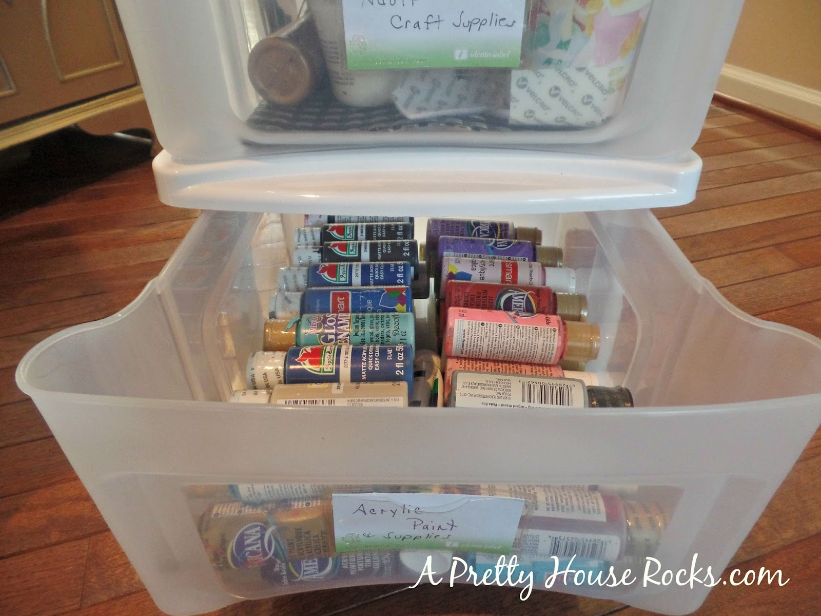 Craft Organization and Storage How I found Space A Pretty House