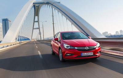 Ασφάλεια 5 αστέρων Euro NCAP για το νέο Opel Astra