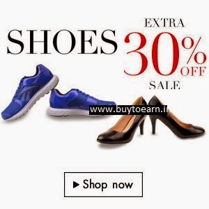 Branded Footwear upto 60% + Extra 30% off at Amazon