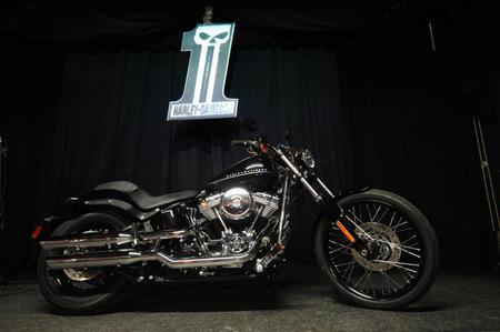 2011 Harley-Davidson Black Line
