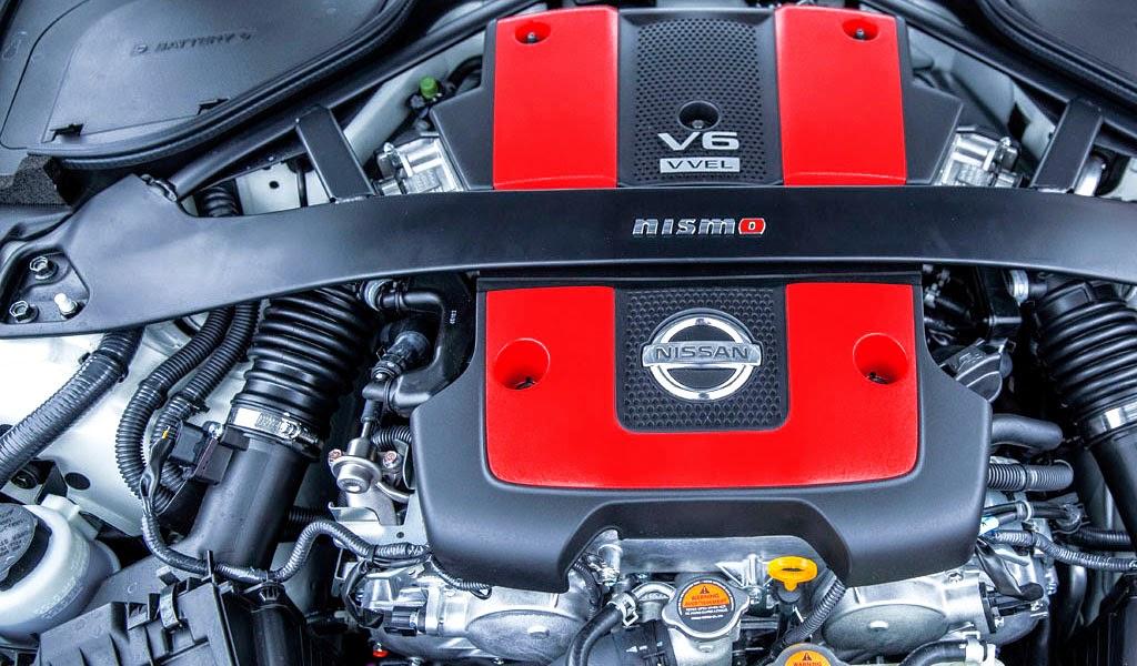 2015 Nissan 370Z Nismo Engine