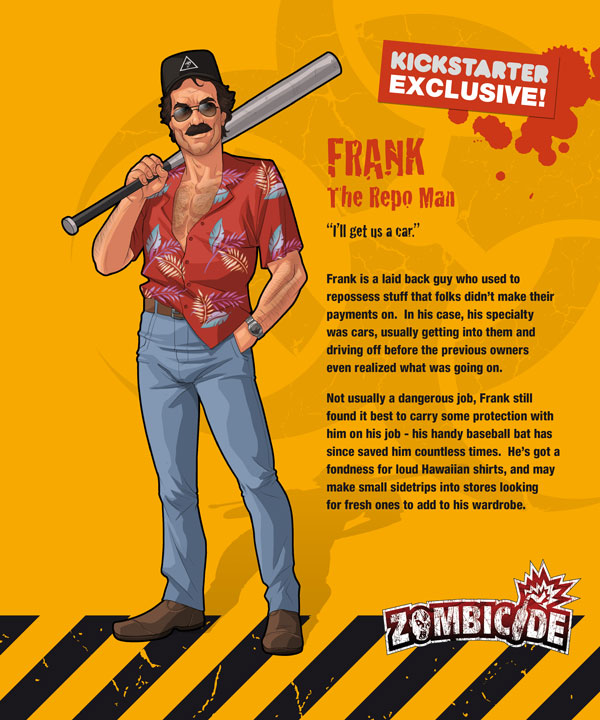 Zombicide personajes FRANK