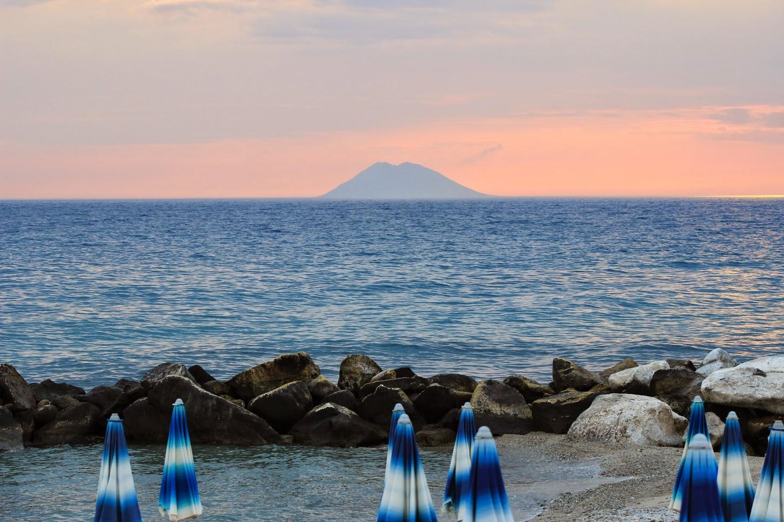 Wyspa Stromboli, Kalabria, Włochy