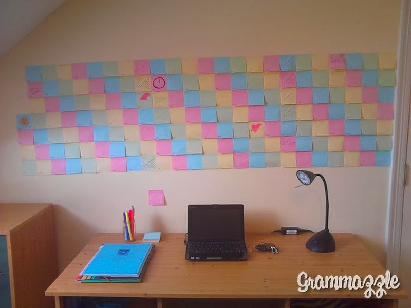 Grammazzle Calendario Post-it Pared Wall Calendar