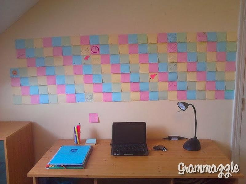 Grammazzle Calendario Post-it Pared Wall Calendar