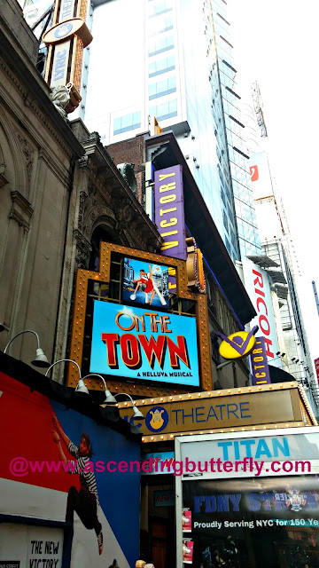 On The Town Lyric Theatre Broadway New York City