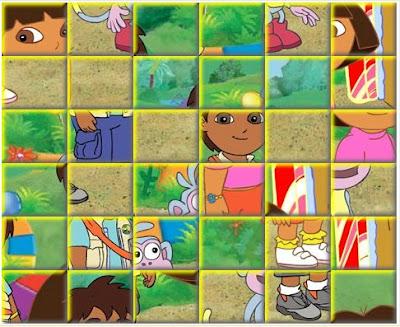 juego Dora puzzle