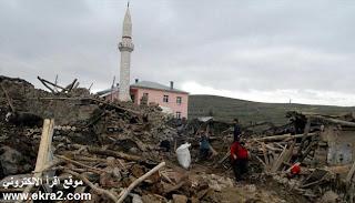 زلزال بقوة 7.3 ريختر يضرب شرق تركيا