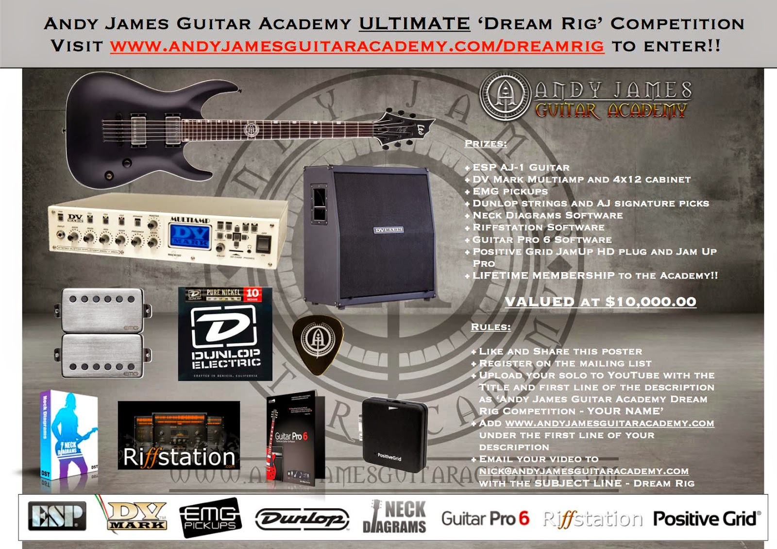 Andy james dream rig competition ccuart Image collections