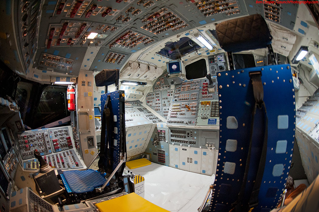 Daily Lazy Space Shuttle Cockpit